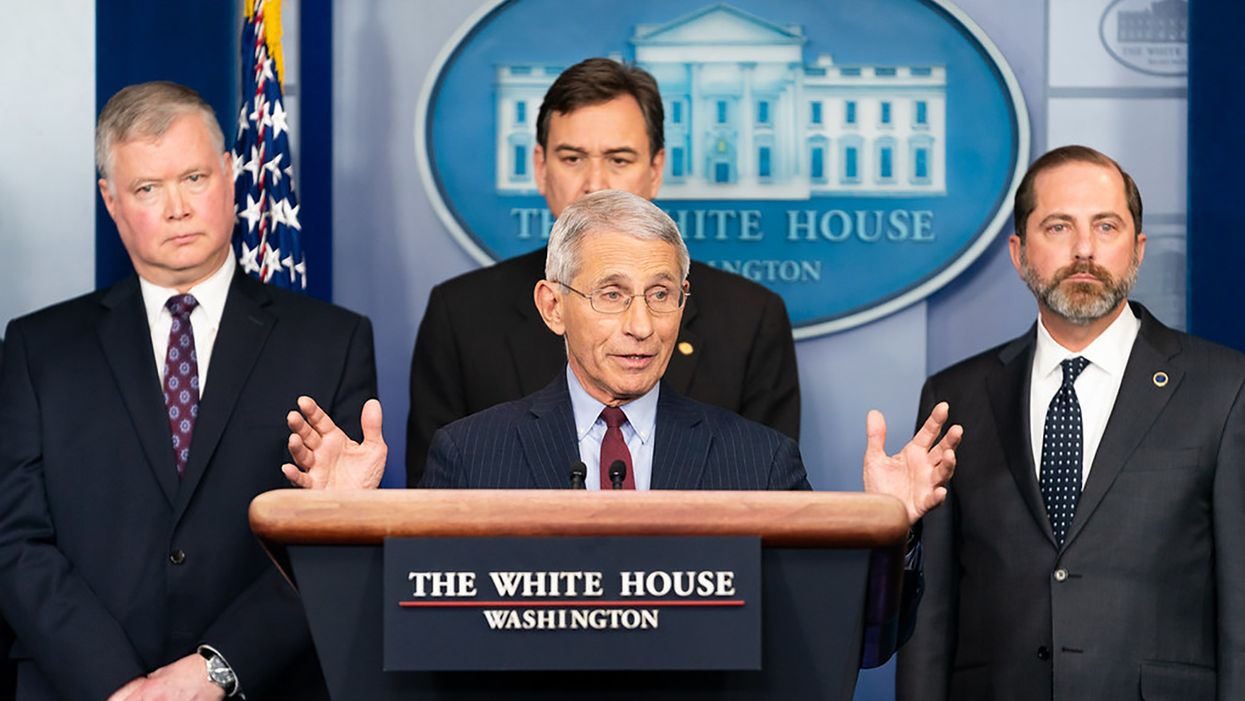 Trump's 2020 'closing message': A threat to fire Dr. Fauci after the election
