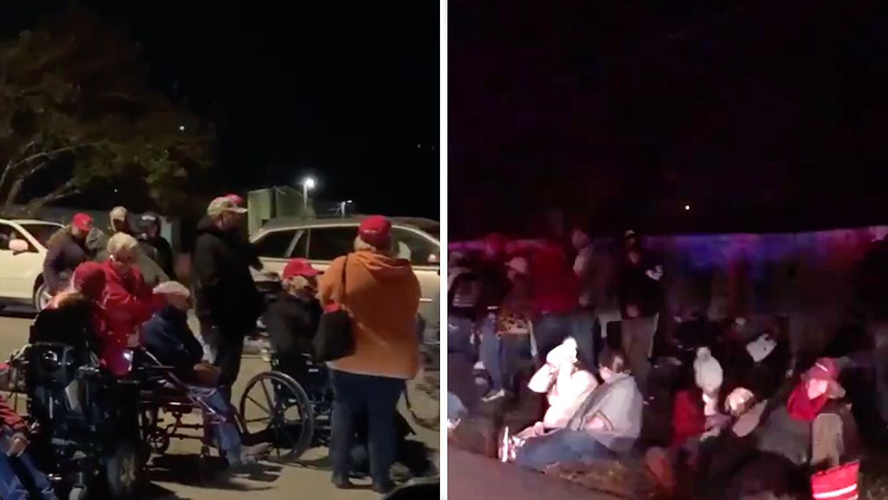 Trump leaves his supporters stranded in the cold for hours after Georgia rally — again