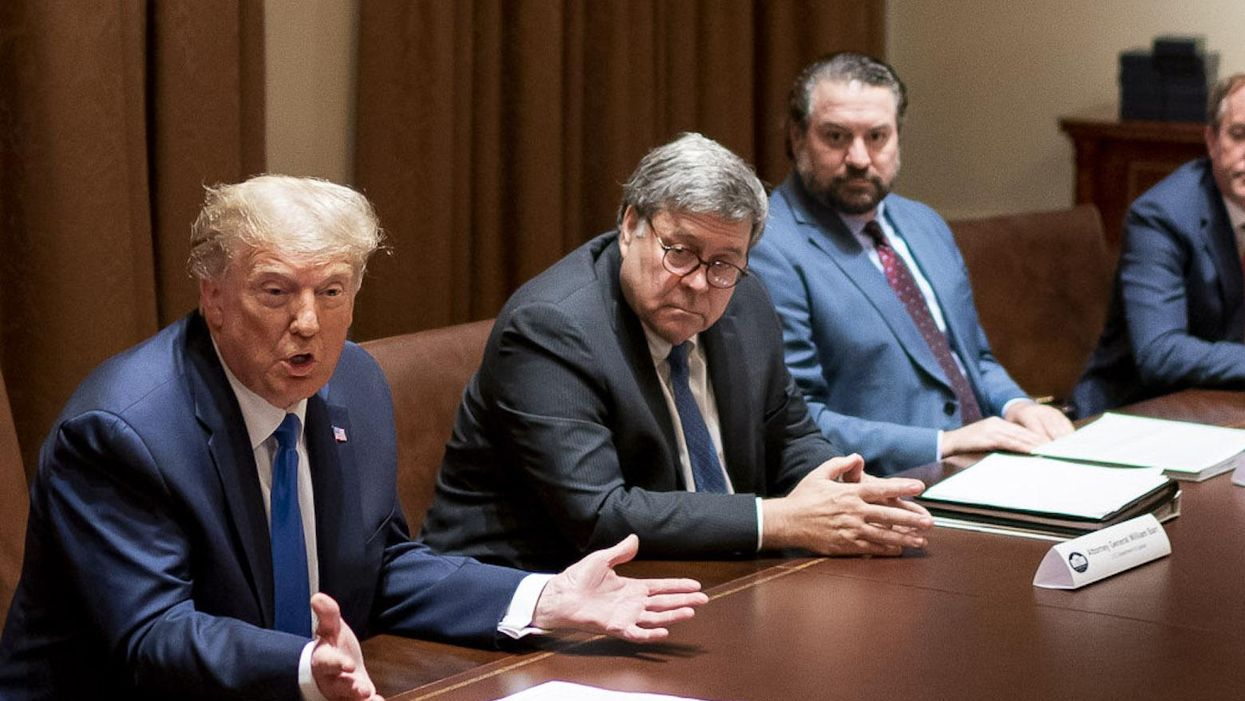 Bill Barr's years-long charade falls apart in an accidentally revealing interview