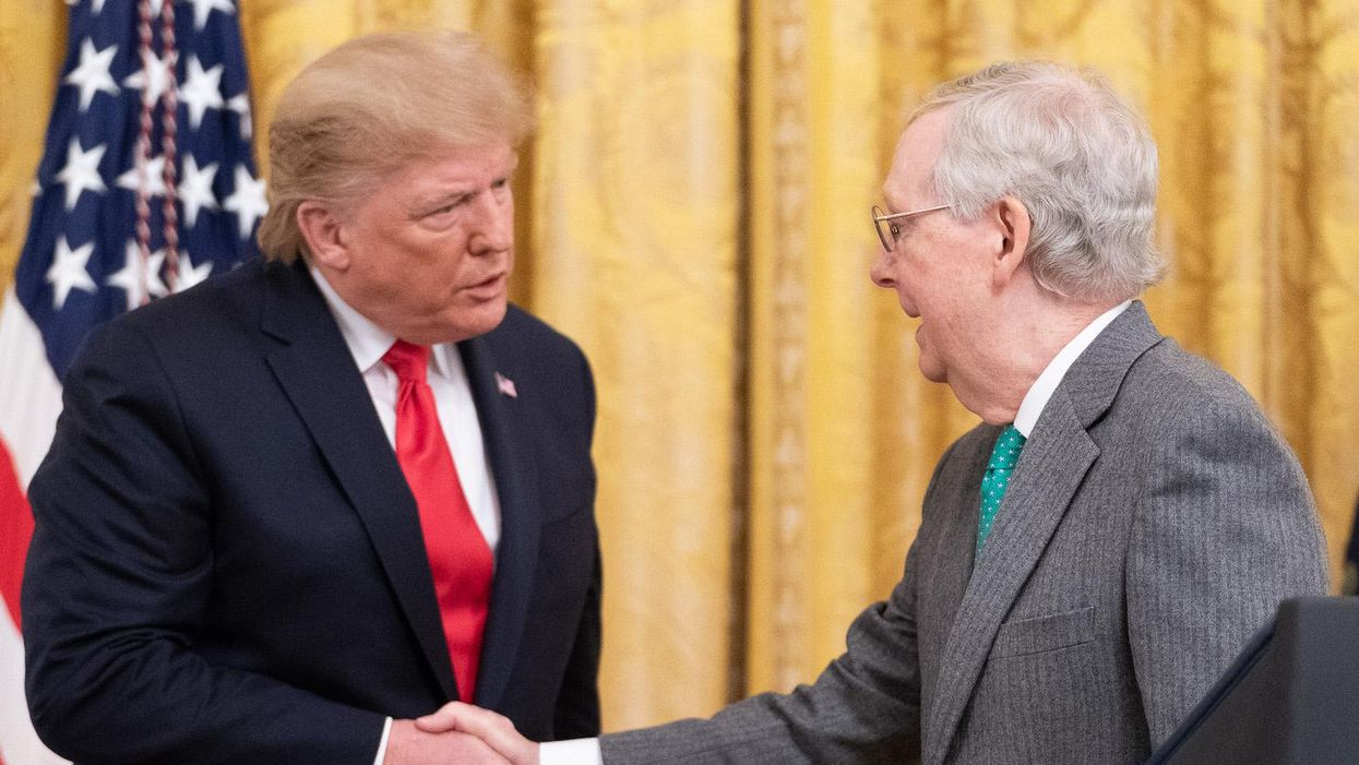Trump and McConnell are finally breaking up