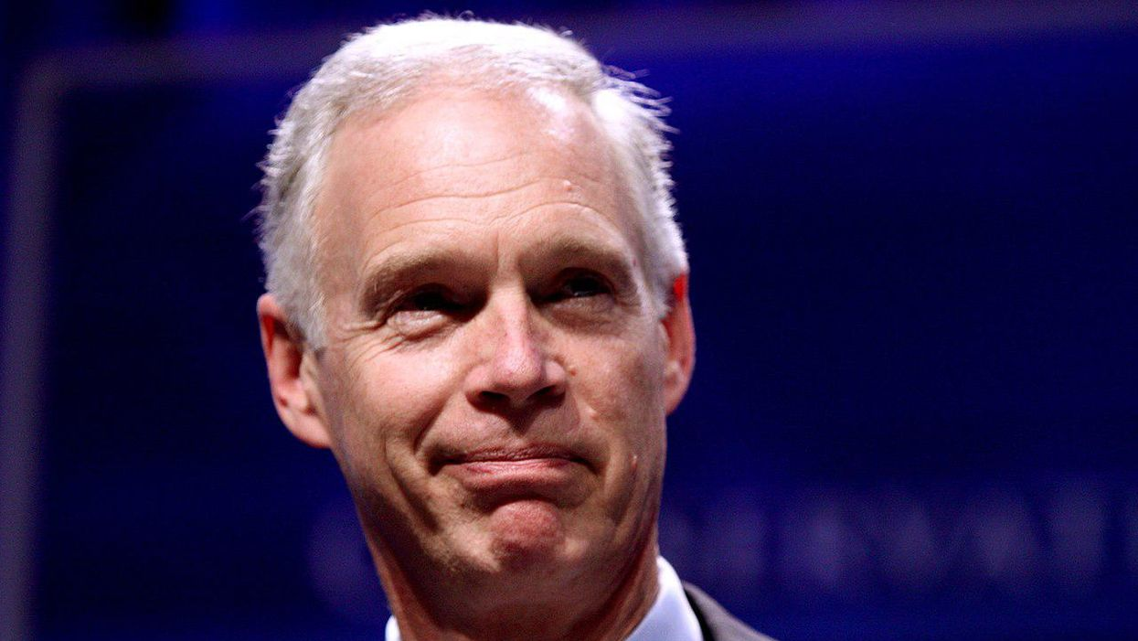 Ron Johnson at his most irresponsible: 'I see no reason to be pushing vaccines on people'