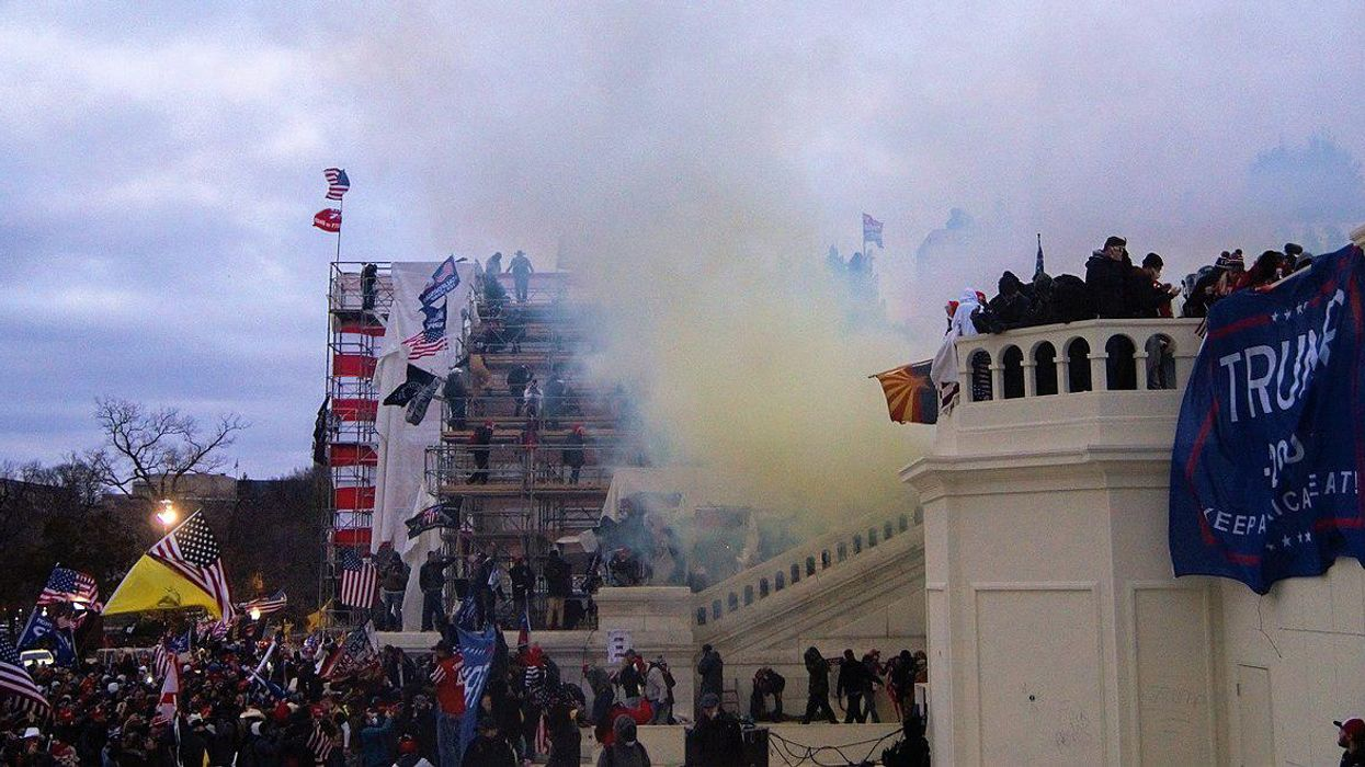 Russian media outlets push false claims about who's to blame for the Capitol riot