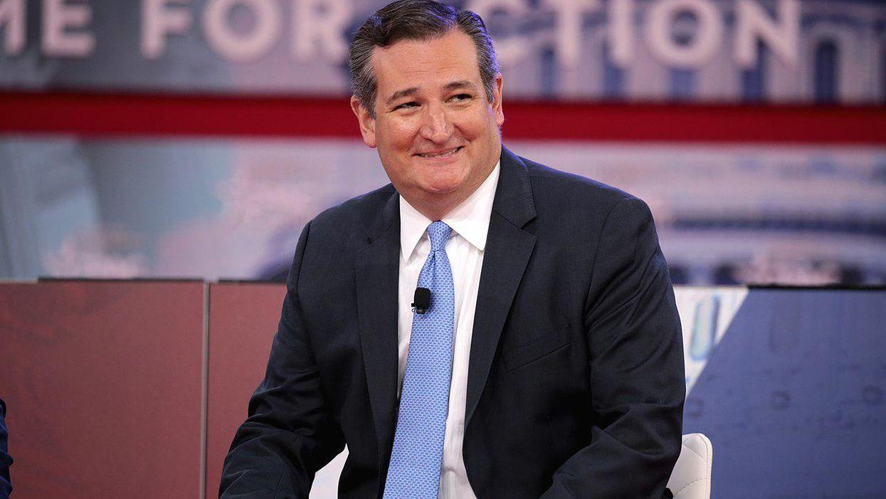 Ted Cruz slammed on Twitter in record time after sniveling anti-Biden tweet