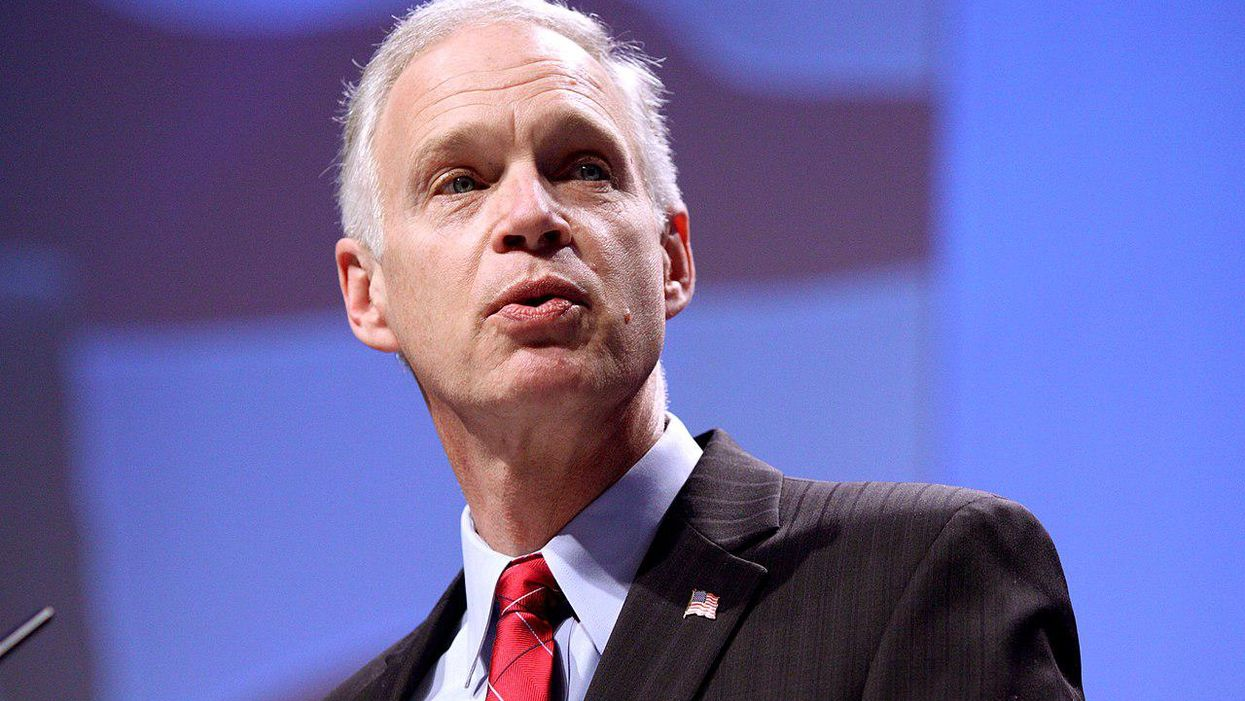 'I'm suspicious': Ron Johnson blasted for somehow blaming Capitol siege on Nancy Pelosi