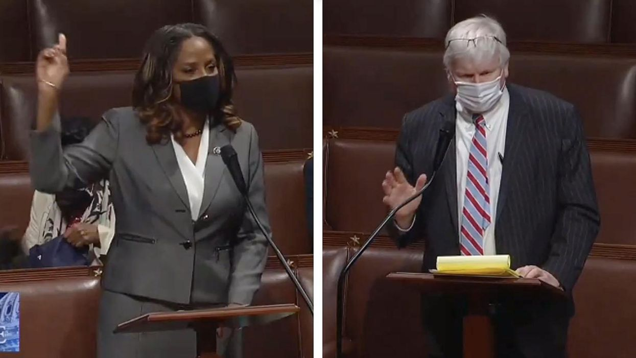 'How dare you': Democrat educates GOP lawmaker who claimed BLM 'doesn't like the old fashioned family'