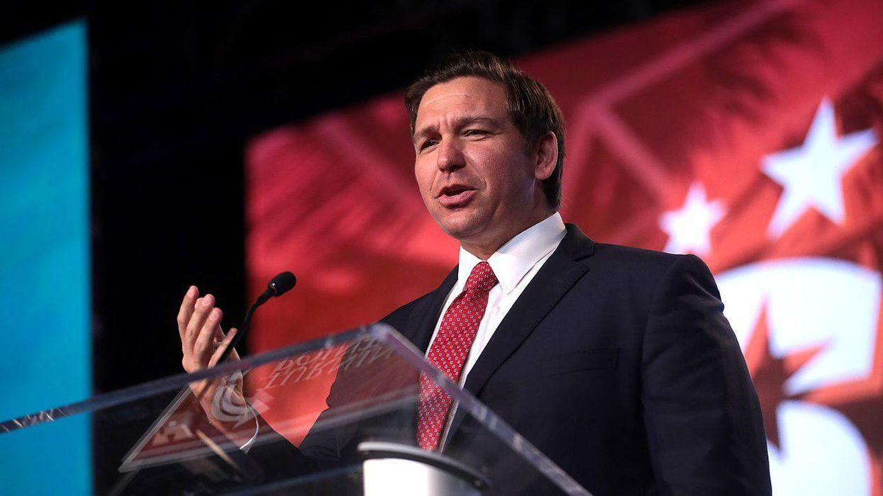 'Fascist' Ron DeSantis burned to the ground by Florida reporter for his latest Trump-like move