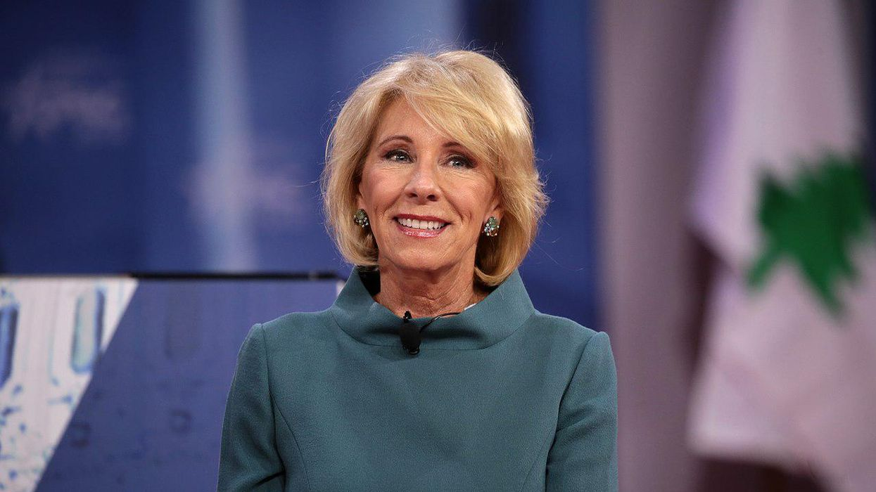 Why activists are urging the Biden administration to tear down part of Betsy DeVos' legacy