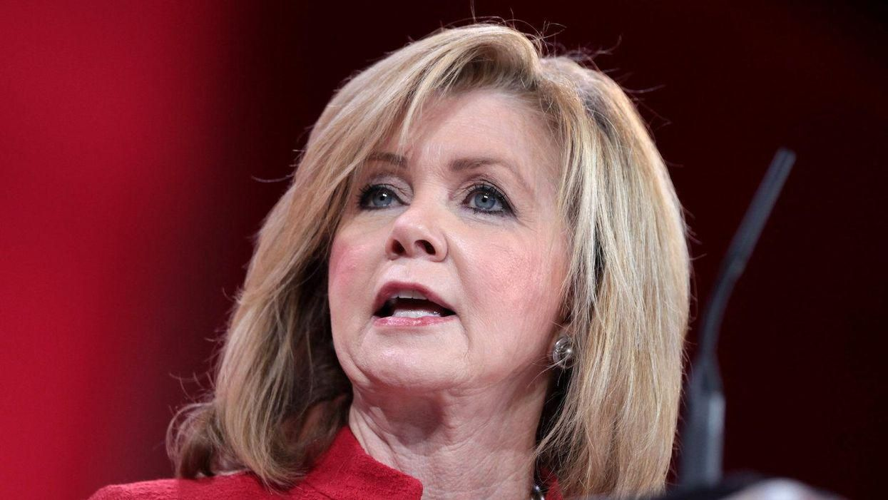 Internet slams Marsha Blackburn for graphic attacking infrastructure bill: 'Are these supposed to be bad?'