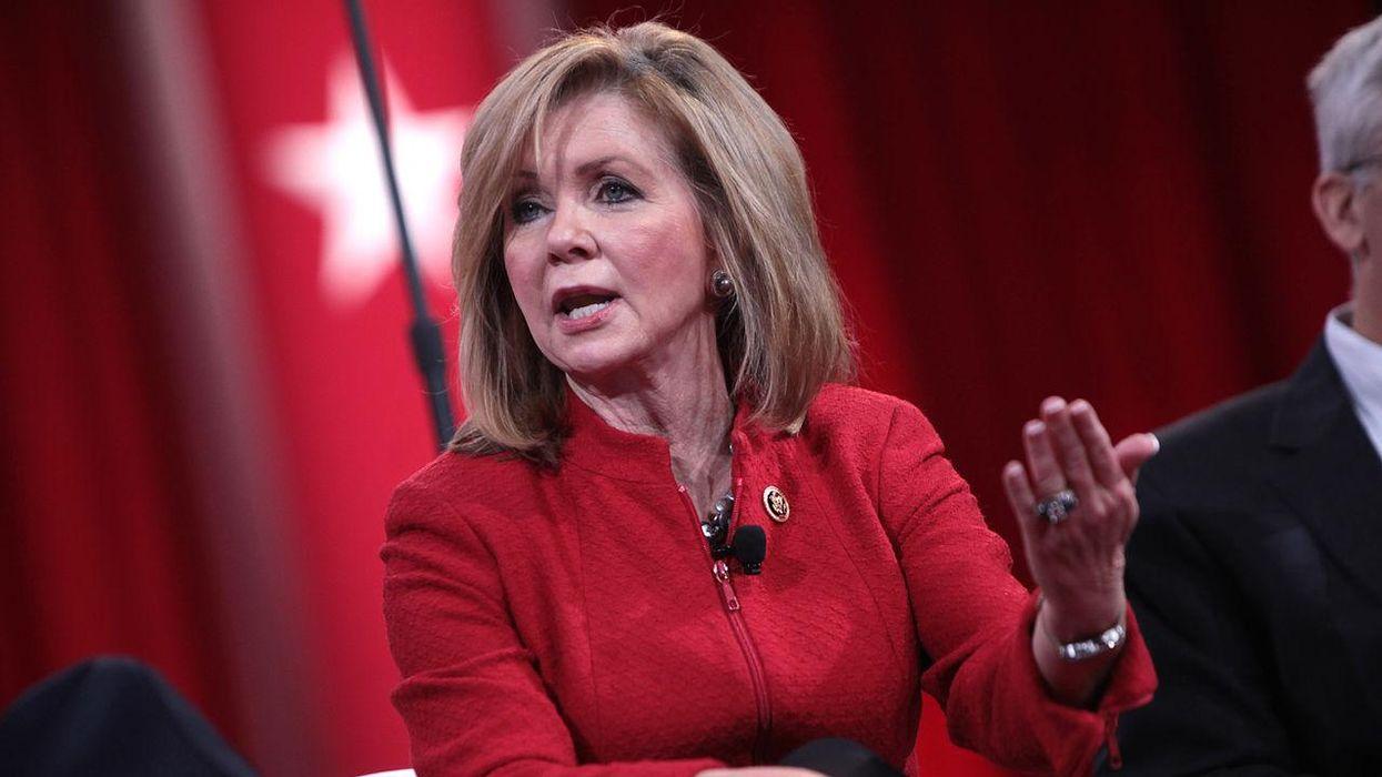 GOP Sen. Blackburn offers an odd excuse after she's caught spreading lies about Biden's plans
