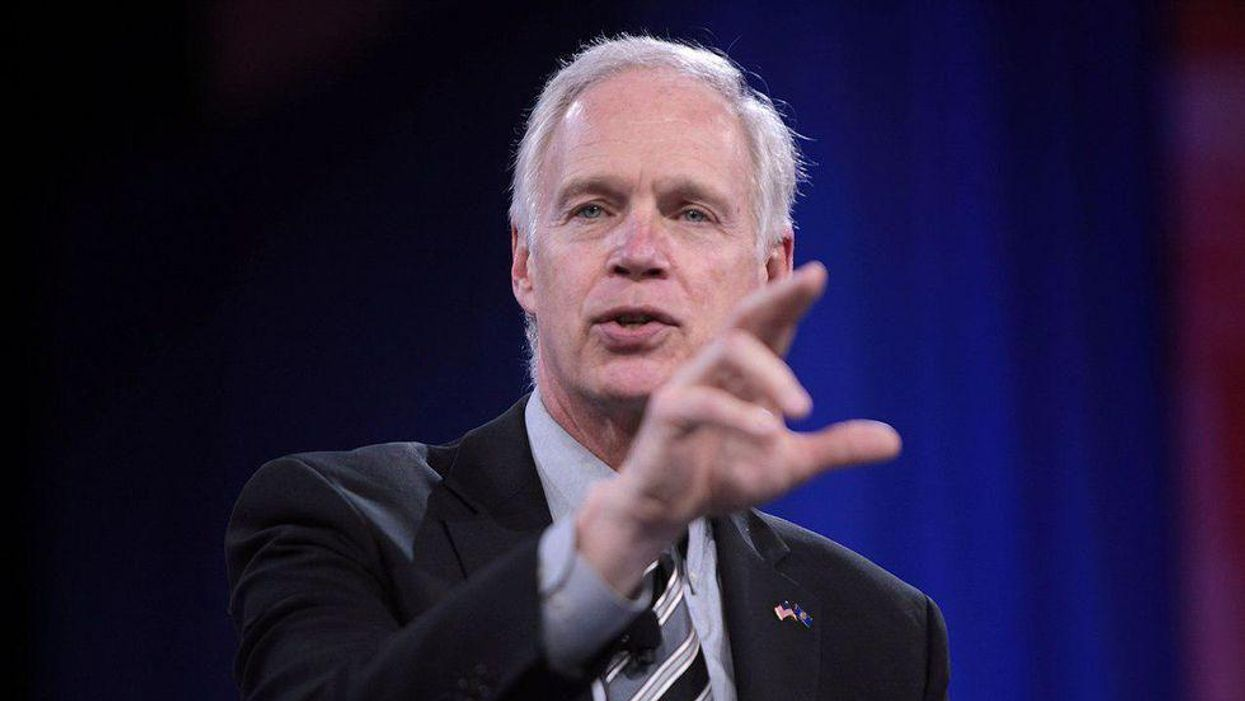 Unearthed video reveals Republican Sen. Ron Johnson's profane and conspiratorial rant at GOP lunch