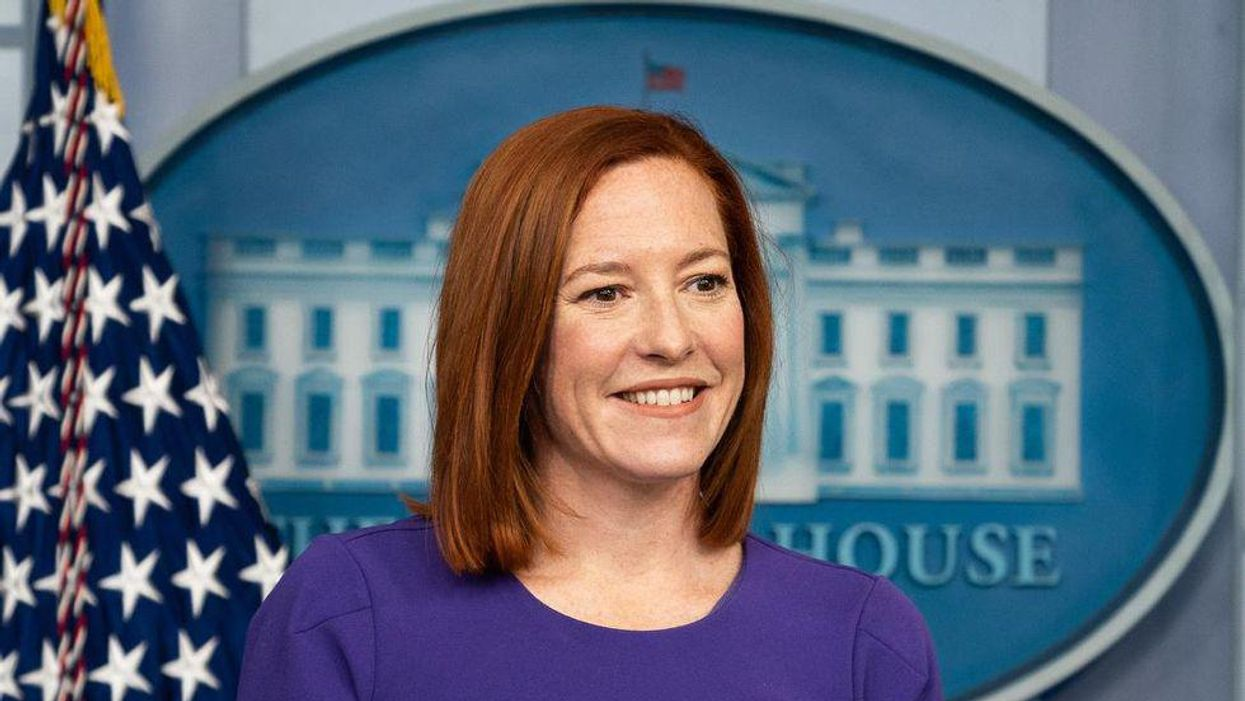 Jen Psaki had the perfect response to aGOP governor'sattacks on Biden's vaccination campaign