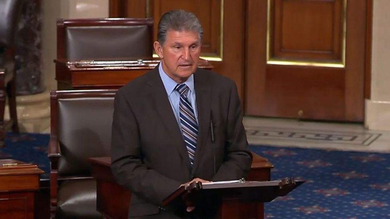 Manchin made over $500K last year from West Virginia's most polluted coal plant — 'more than twice as much' as senator salary