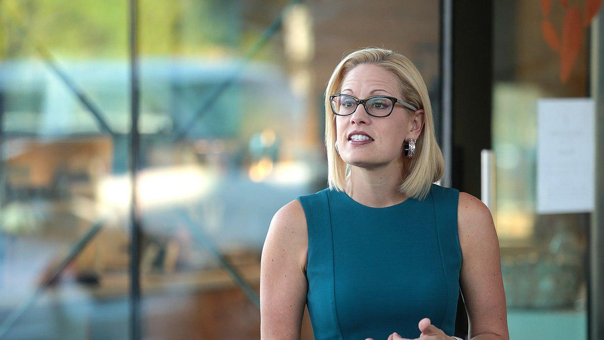 Arizona columnist rips Kyrsten Sinema's obstruction of Democratic agenda: 'She may as well join' the GOP