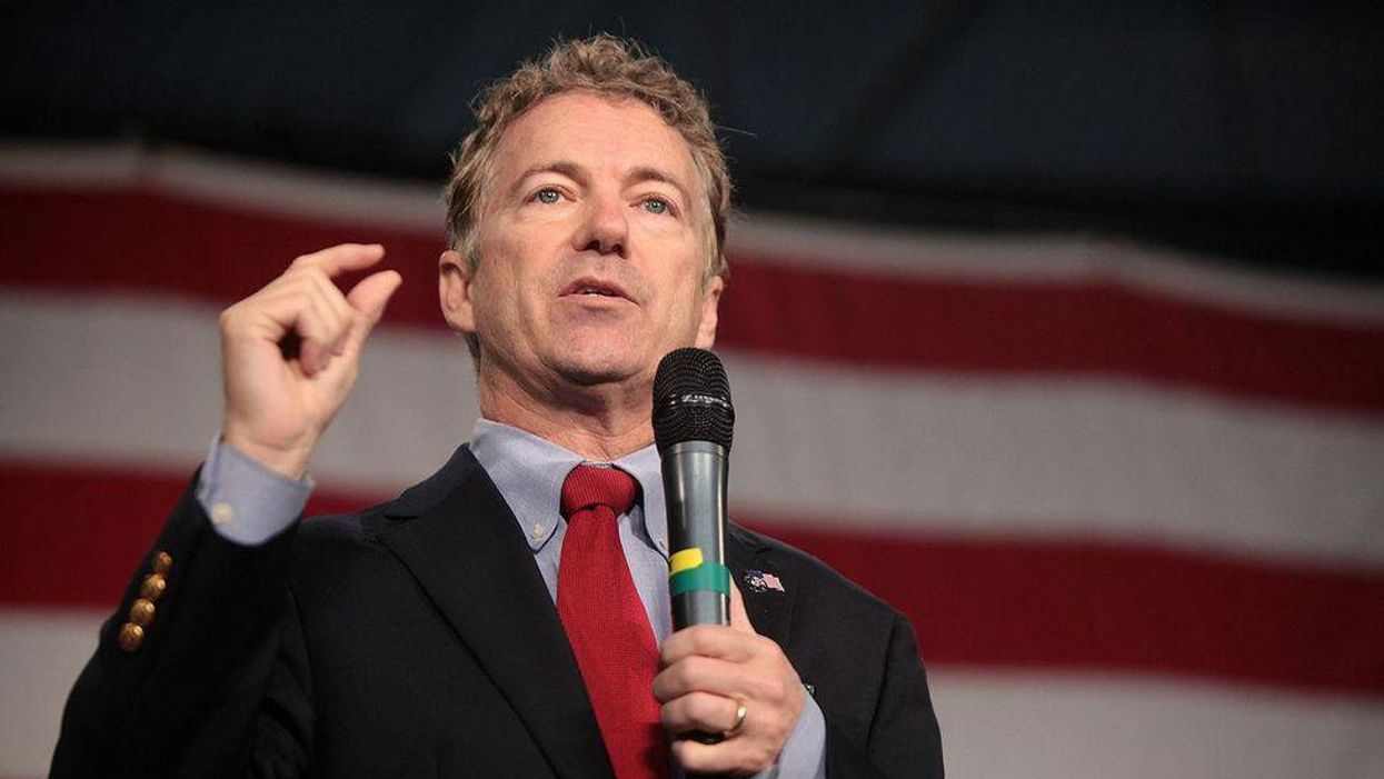 Rand Paul rants about 'leftwing cretins at Youtube' after suspension for false anti-mask claims