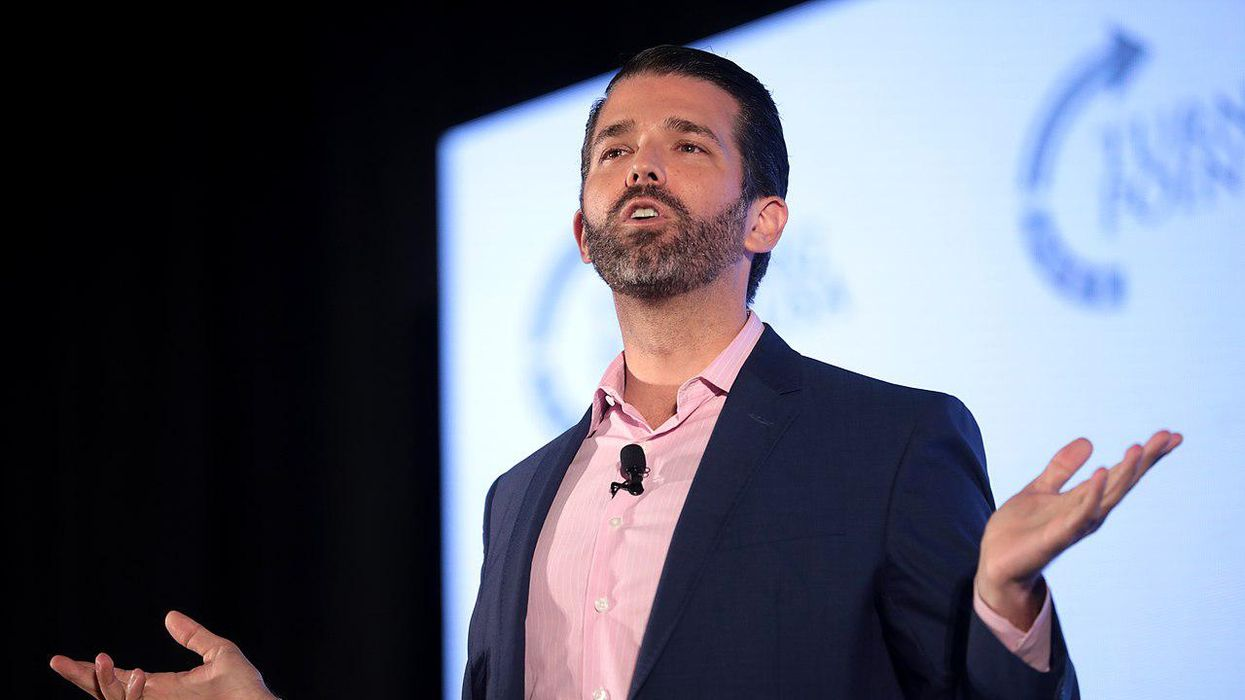 Donald Trump Jr. thinks the Taliban made a good point about free speech