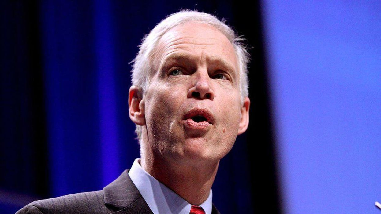 Watch: Ron Johnson caught on camera admitting the real reason Trump lost