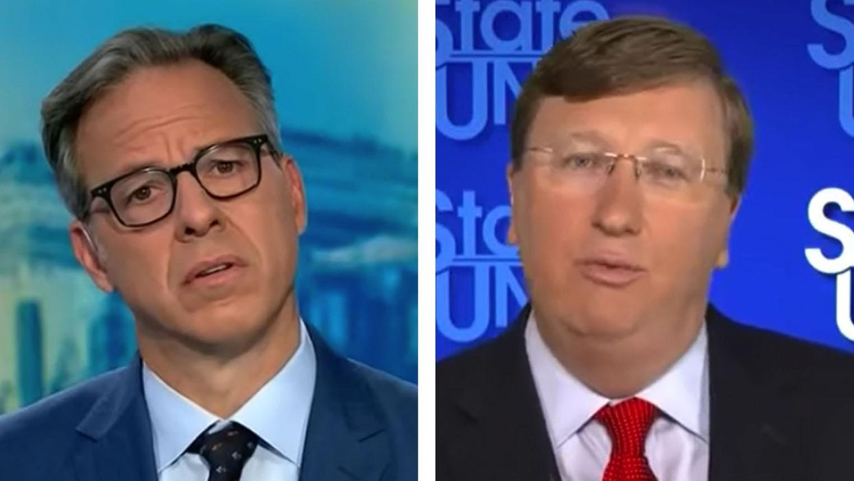 'Your way's not working': CNN's Jake Tapper corners Mississippi GOP governor over state's COVID crisis
