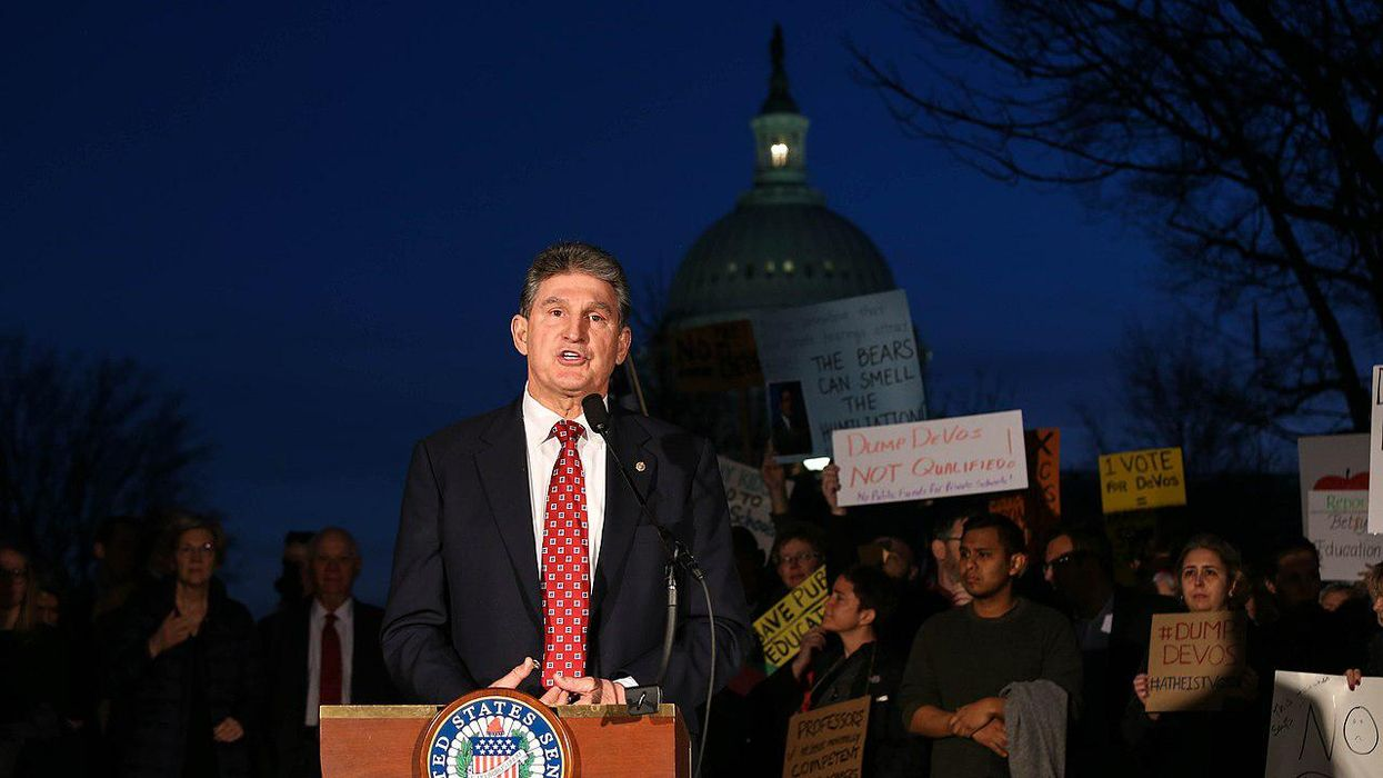 DC lobbyists are going to great lengths to influence Joe Manchin and 'see inside his head': report