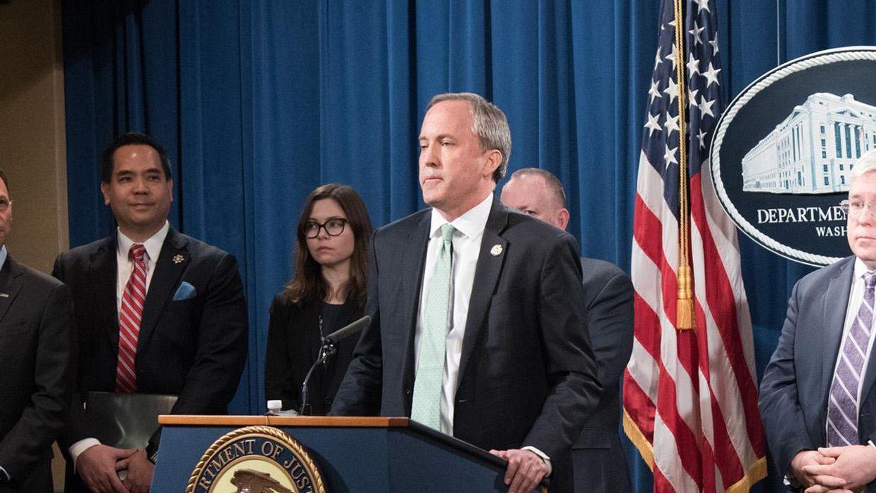 Texas AG Ken Paxton sues Biden admin over LGBTQ policies