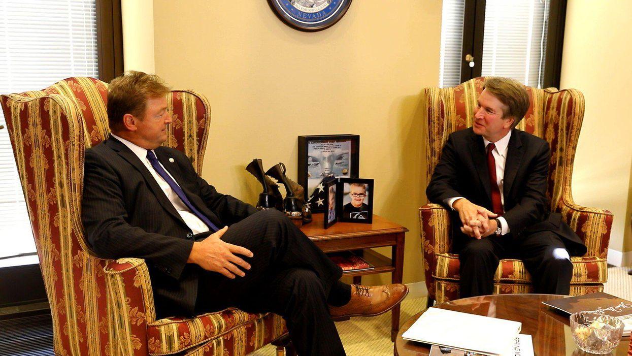 Nevada gubernatorial candidate Dean Heller refuses to say Biden is president