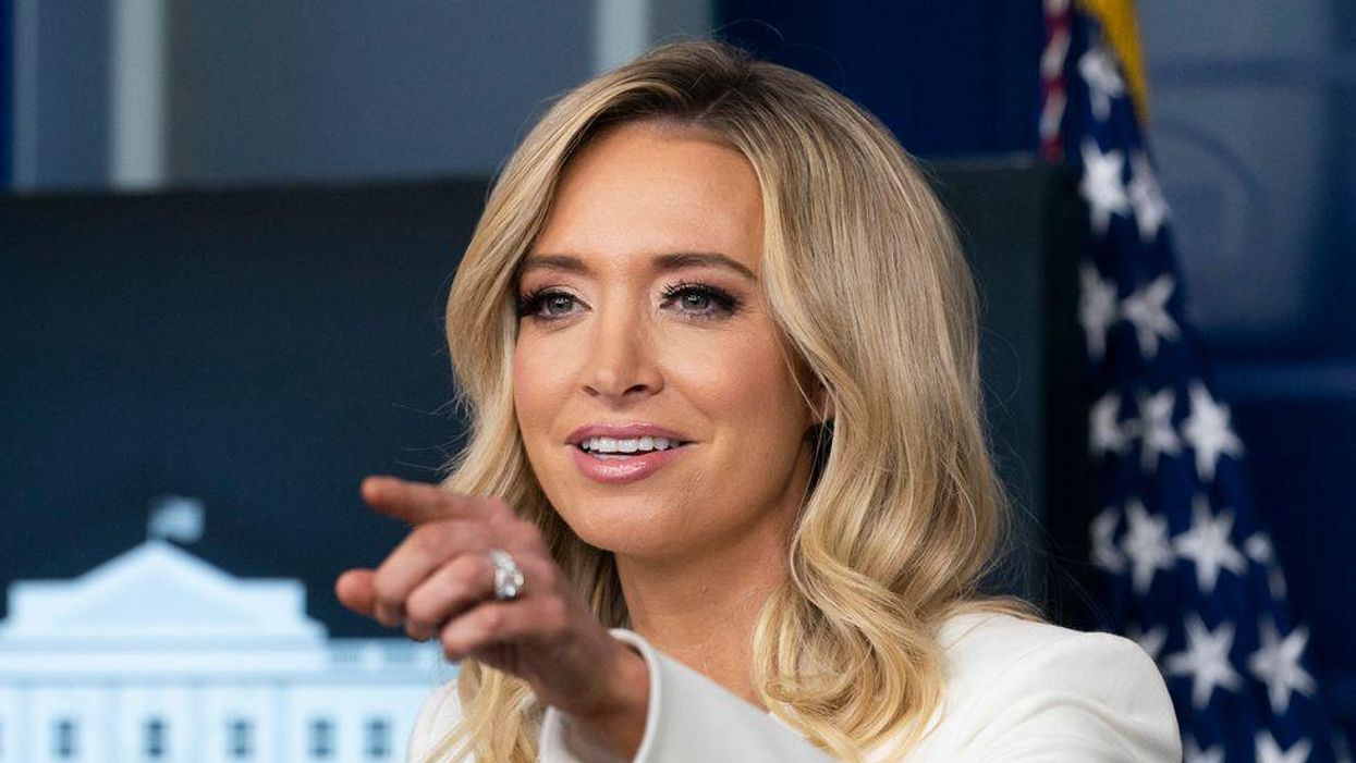 Kayleigh McEnany gets mercilessly mocked and deletes a tweet when her attack on Biden backfires