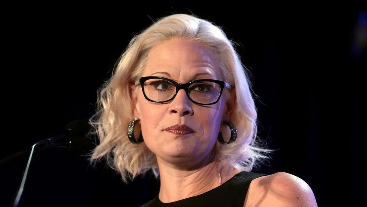 'Setting her political future on fire': Sinema gets caught fundraising with opponents of Biden's agenda