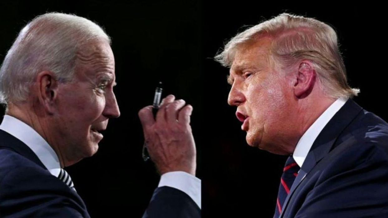 21 million Americans say Biden is 'illegitimate' and Trump should be restored by violence: survey