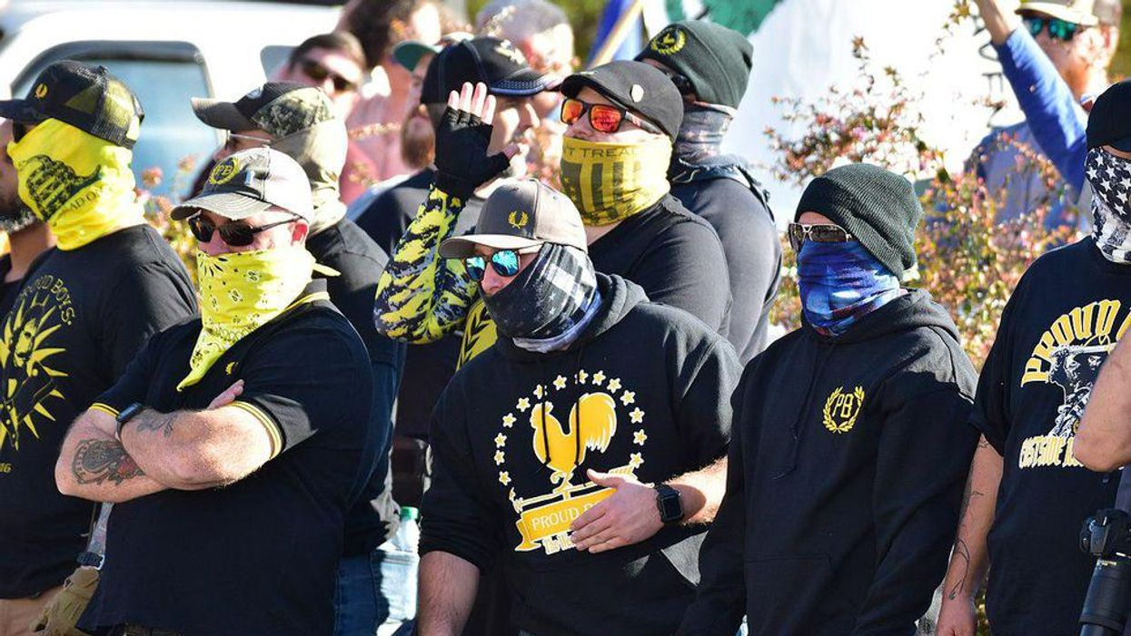 The government's disturbing treatment of the Proud Boys is a clear and present danger