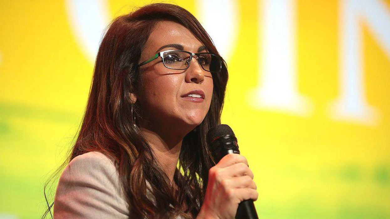 'Coward' Lauren Boebert blasted for turning charity event into QAnon pedophile conspiracy attack against Biden
