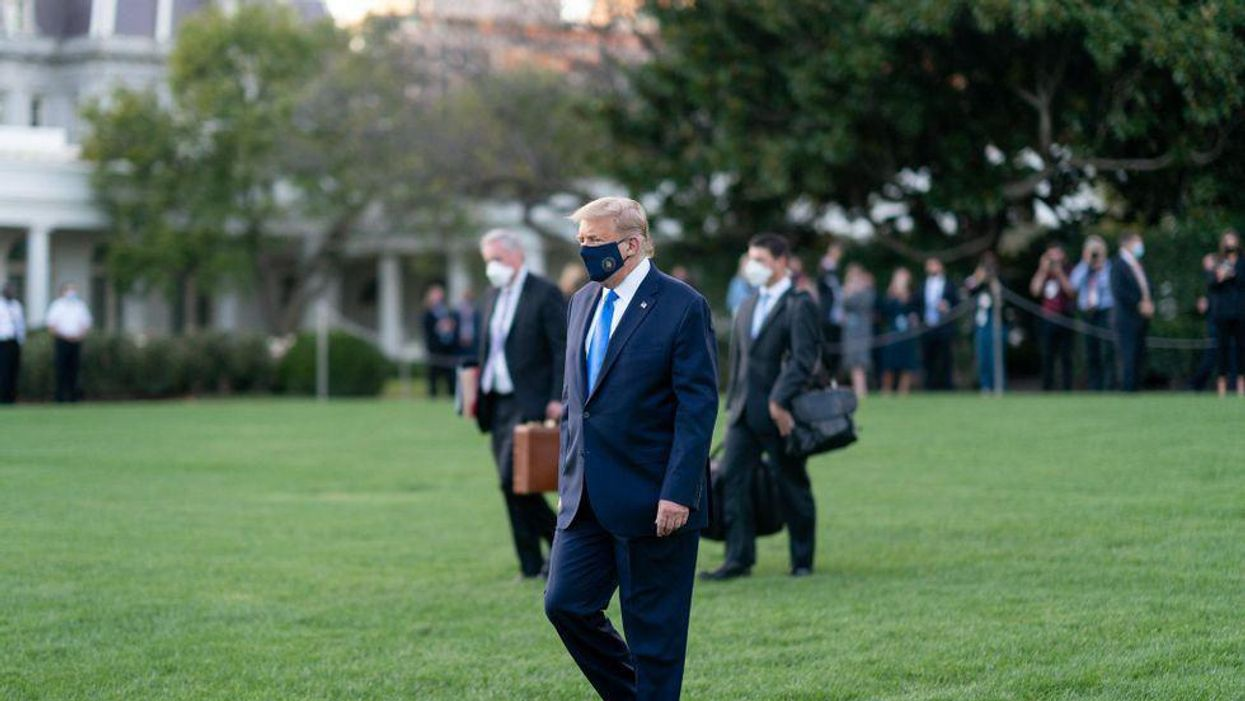 Trump says he may not run in 2024 for 'health' reasons