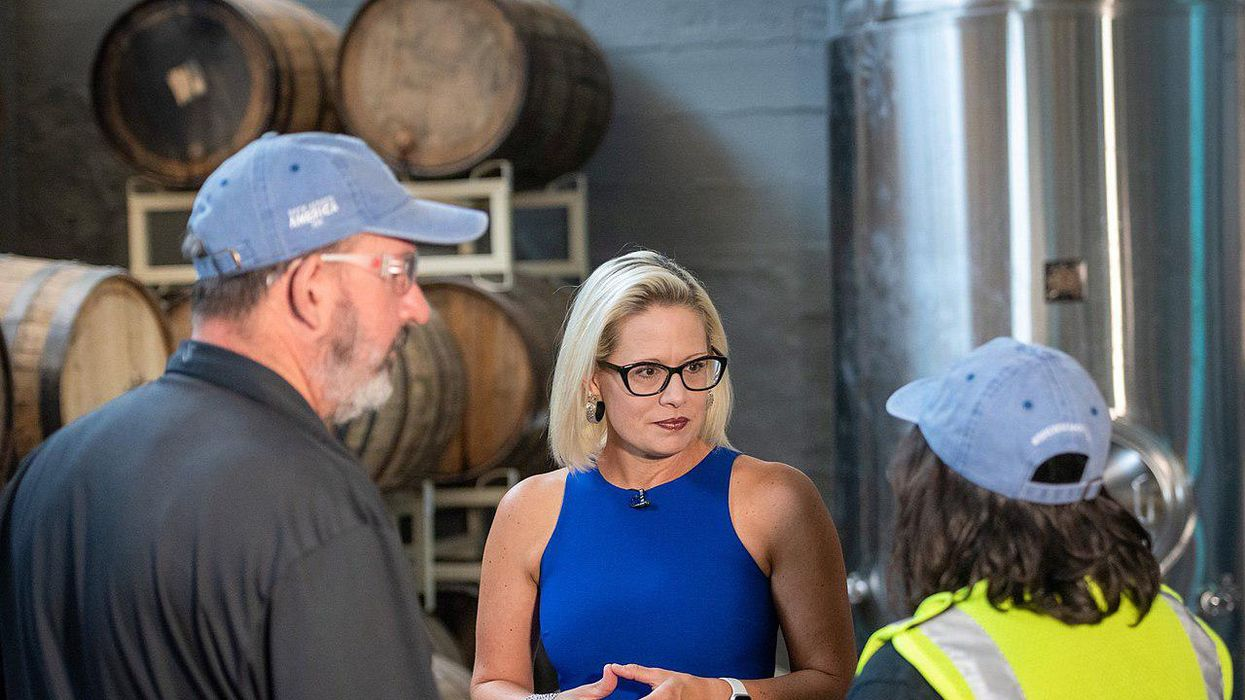 Columnist unpacks the mystery of what Kyrsten Sinema is thinking — and warns her against 'being a narcissist'