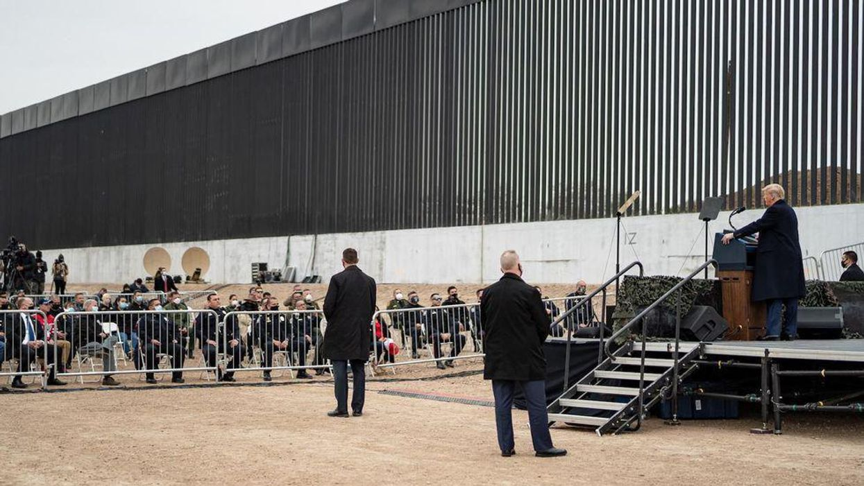 Texas has raised $54 million in private donations for its border wall plan. Almost all of it came from this one billionaire