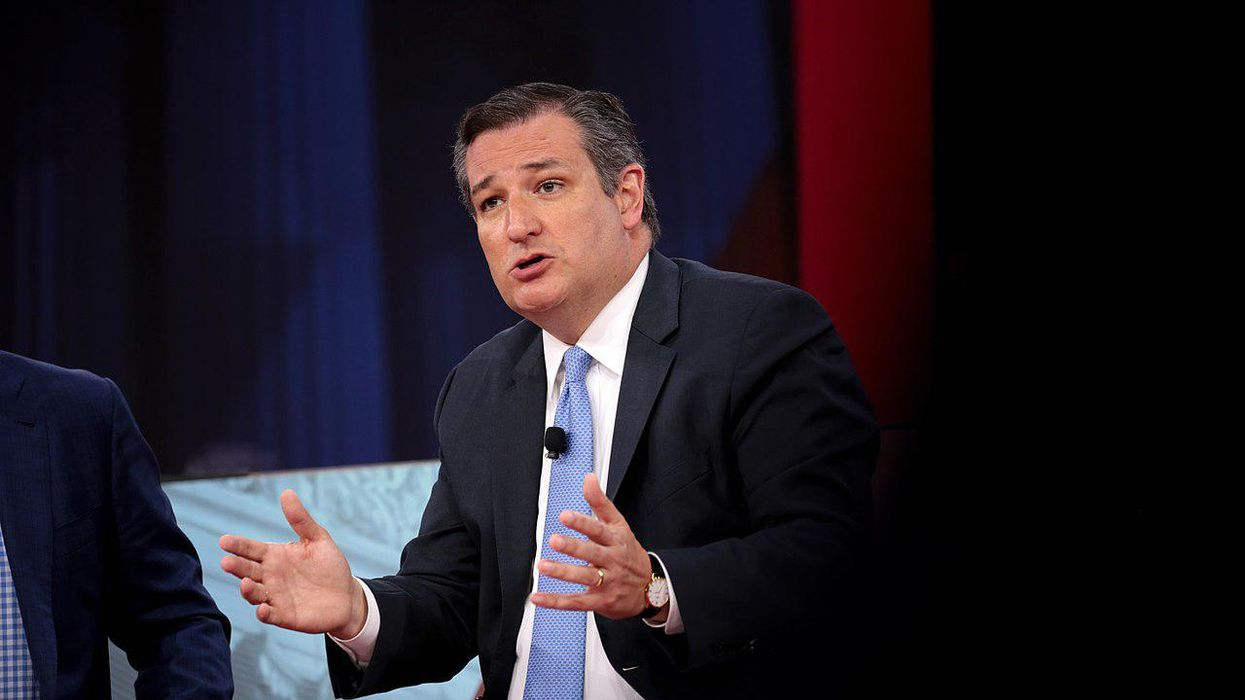 'Completely soulless': Ted Cruz slammed for 'nauseating' pivot from Texas school shooting to 'Biden border crisis'