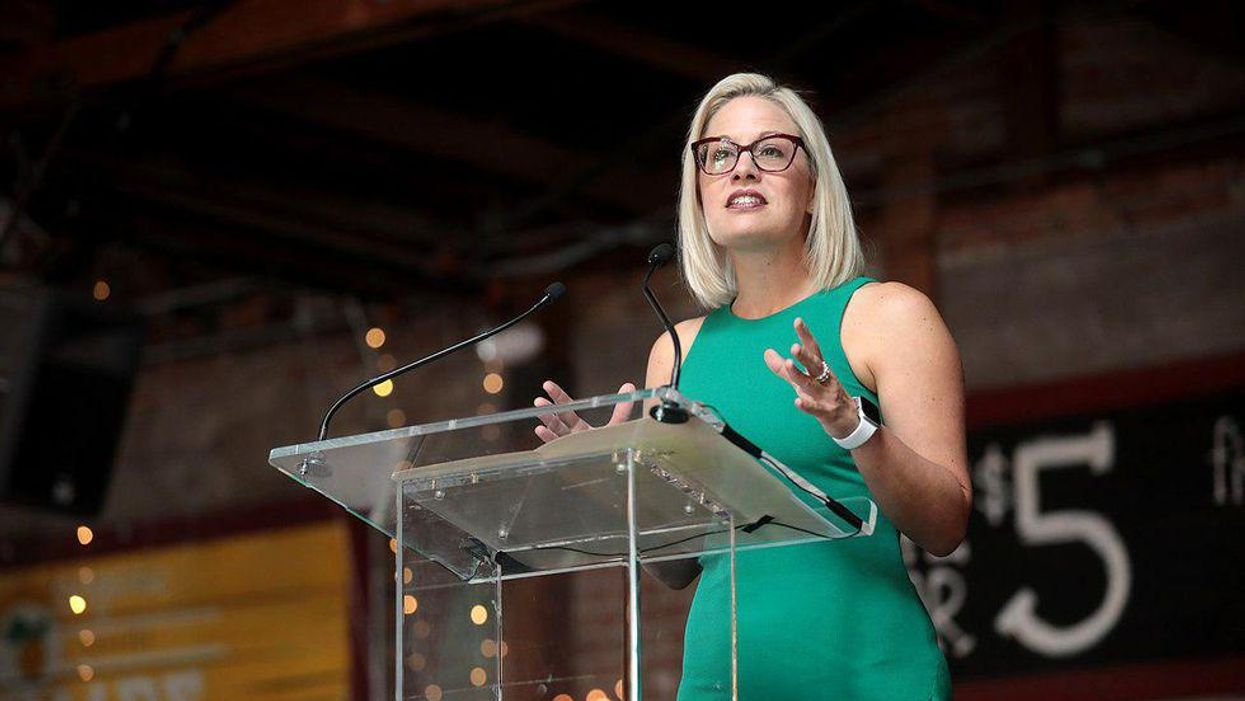 Kyrsten Sinema doesn't need saving: GOP's faux outrage about left-wing misbehavior is one of their oldest tricks