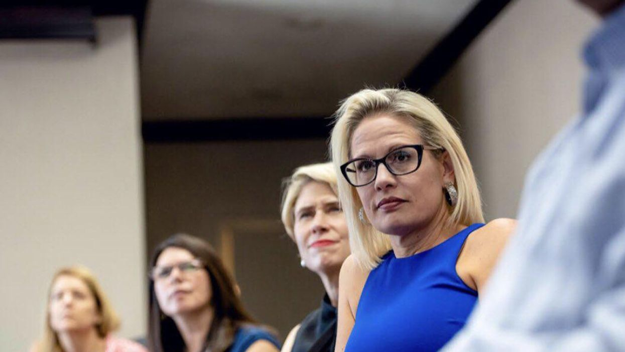 Political operatives warn 'obstructionist' Kyrsten Sinema: 'We've unseated much more powerful people'