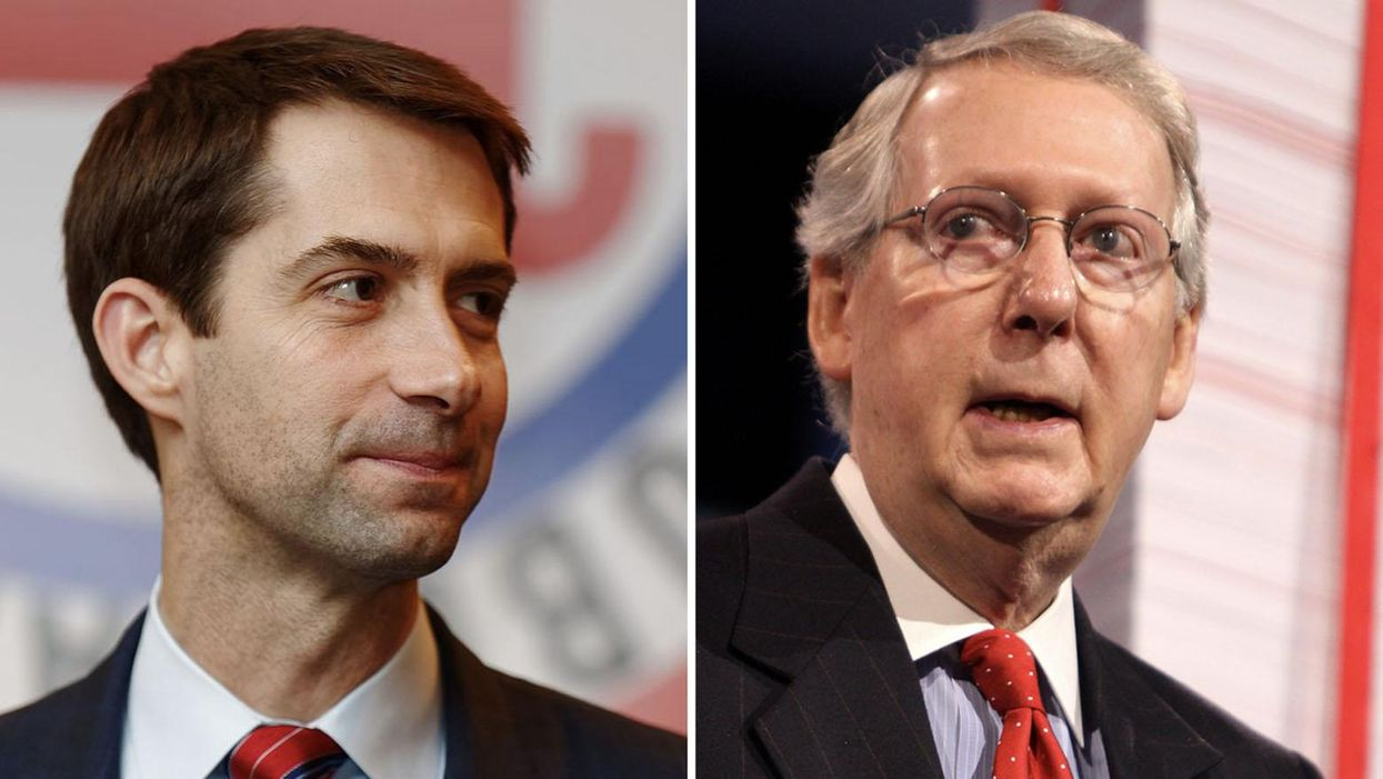 How Mitch McConnell and Tom Cotton 'maneuvered behind the scenes' to undermine Trump's election fraud lies: author