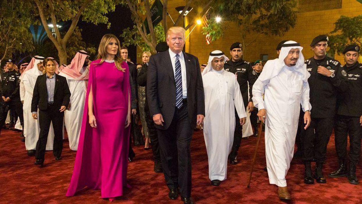 Saudi royals gave Trump tiger and cheetah furs as gifts. U.S. Fish and Wildlife Service says they were fake