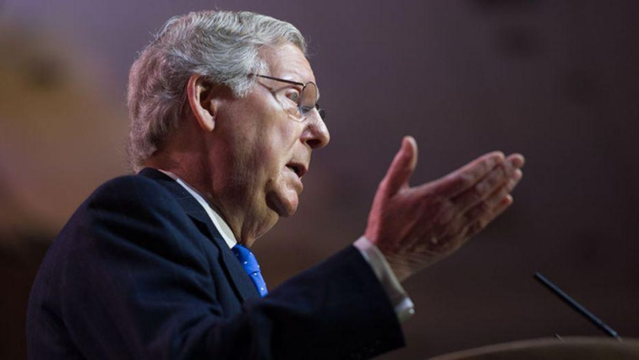 Mitch McConnell sends Joe Biden another debt ceiling hostage note
