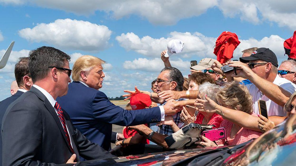 Black flag: Understanding the Trumpists' latest threatening symbol