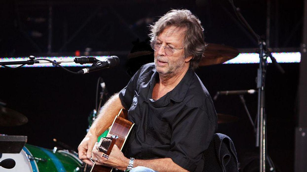 Eric Clapton now funding anti-vaxxer musicians group in the UK