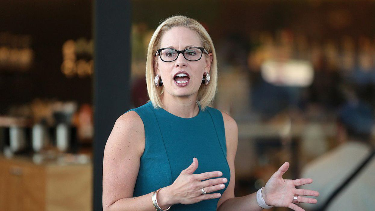 Big pharma and drug lobbyists are 'courting' Kyrsten Sinema as the 'lead blocker' on pricing reform: report
