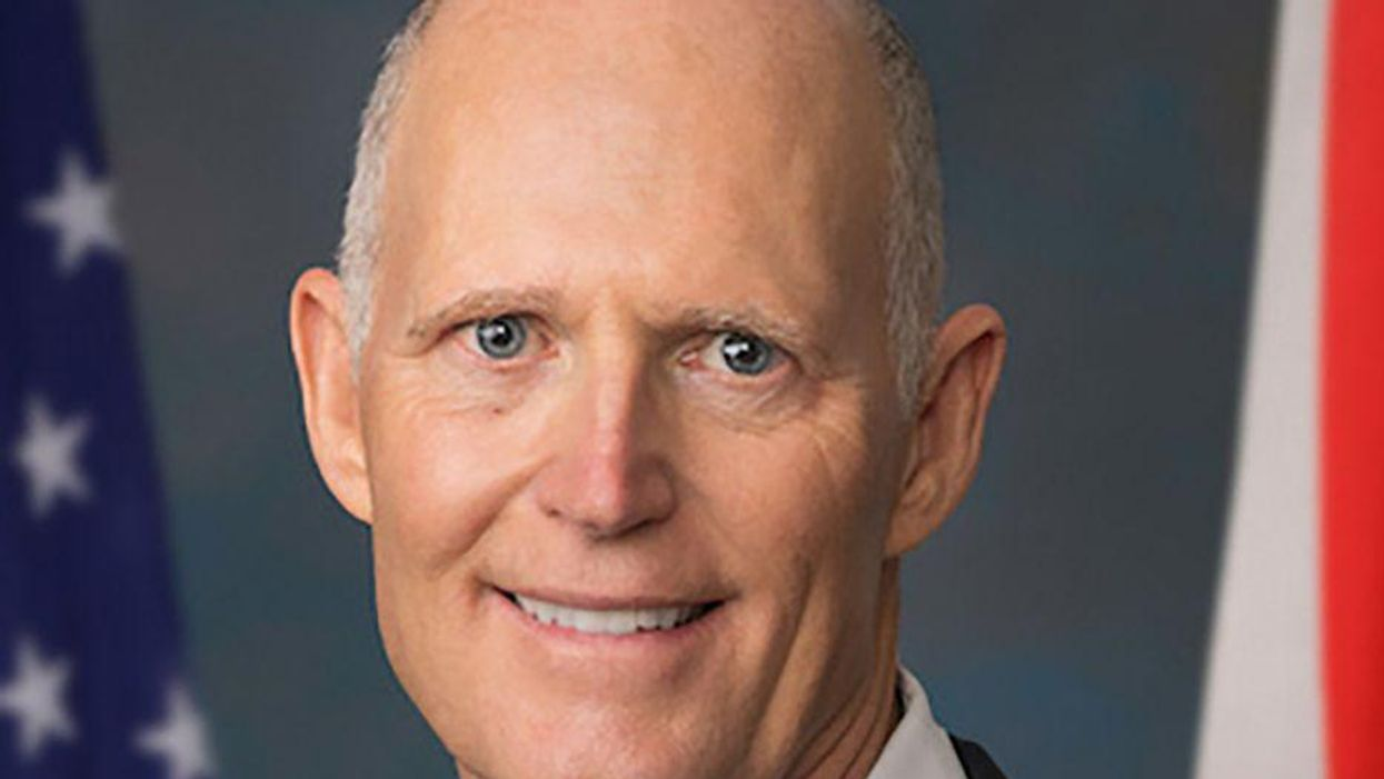 Fact checker busts Rick Scott for claiming Garland is coming for disruptive parents at school board meetings