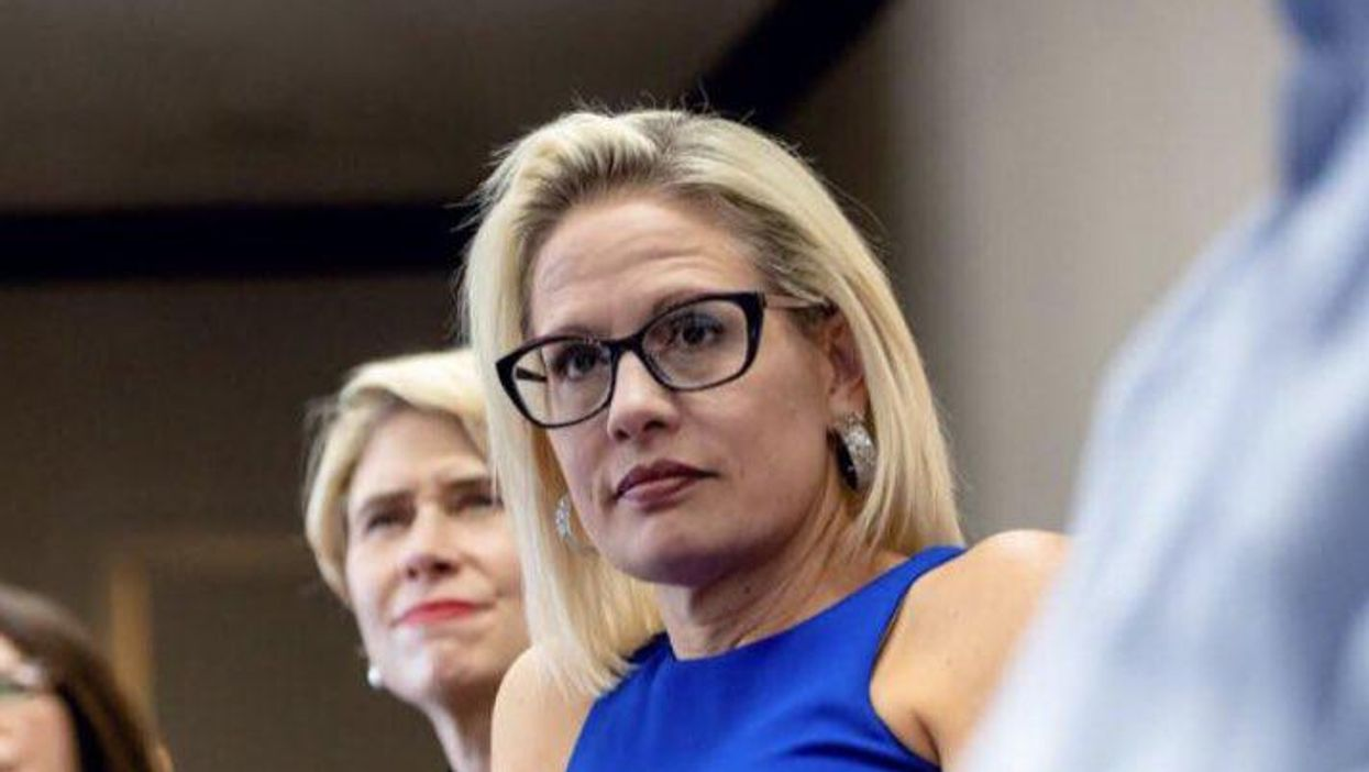 The sinister story of Kyrsten Sinema's turn to conservatism and political corruption