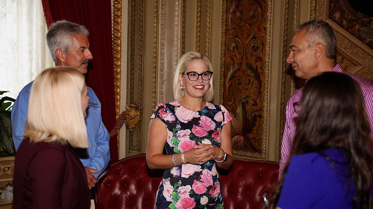 Why Sinema and Manchin's states stand to benefit from 'virtually everything' in Biden's proposals: conservative