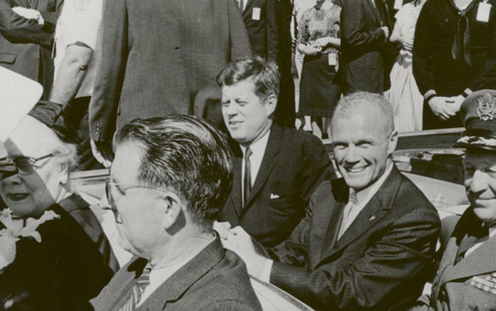 How the question of who killed JFK emerged in an unexpected way on the campaign trail