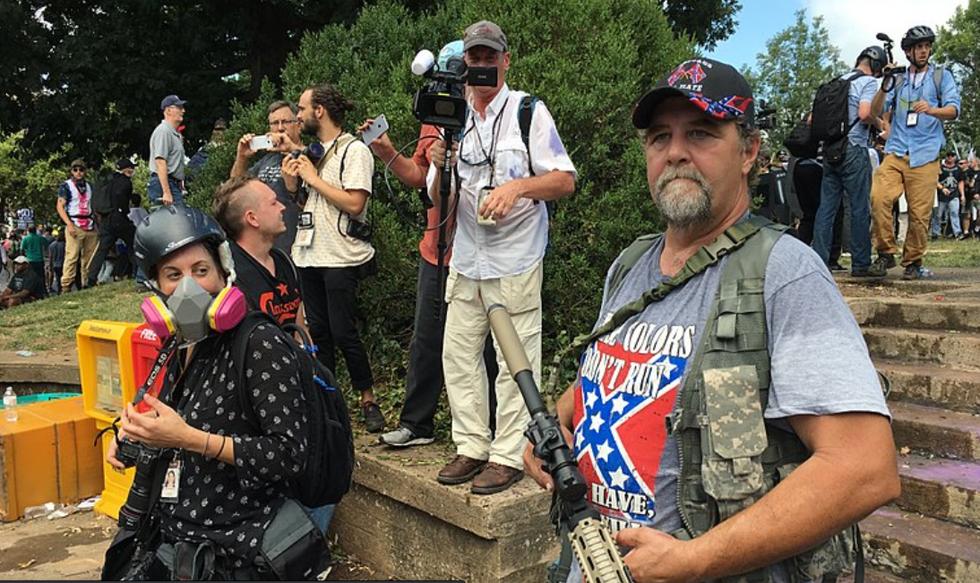 Armed militia groups are taking Trump's civil war rhetoric literally