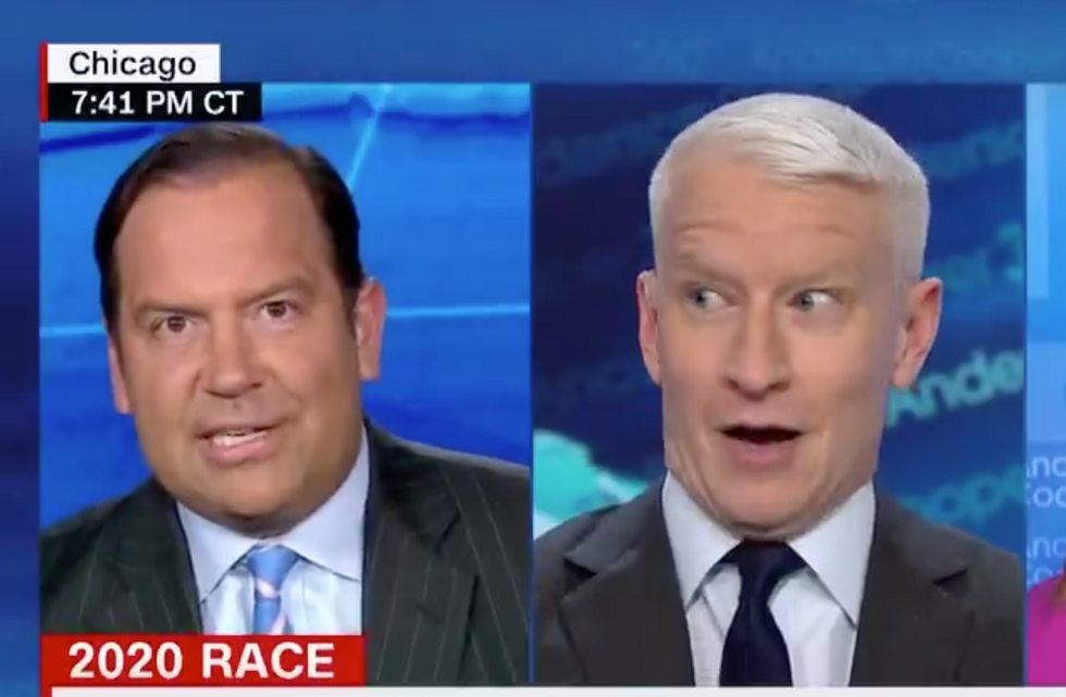 'So slavery is funny?': CNN guest goes off the rails when he tries to defend Trump's racist tweet
