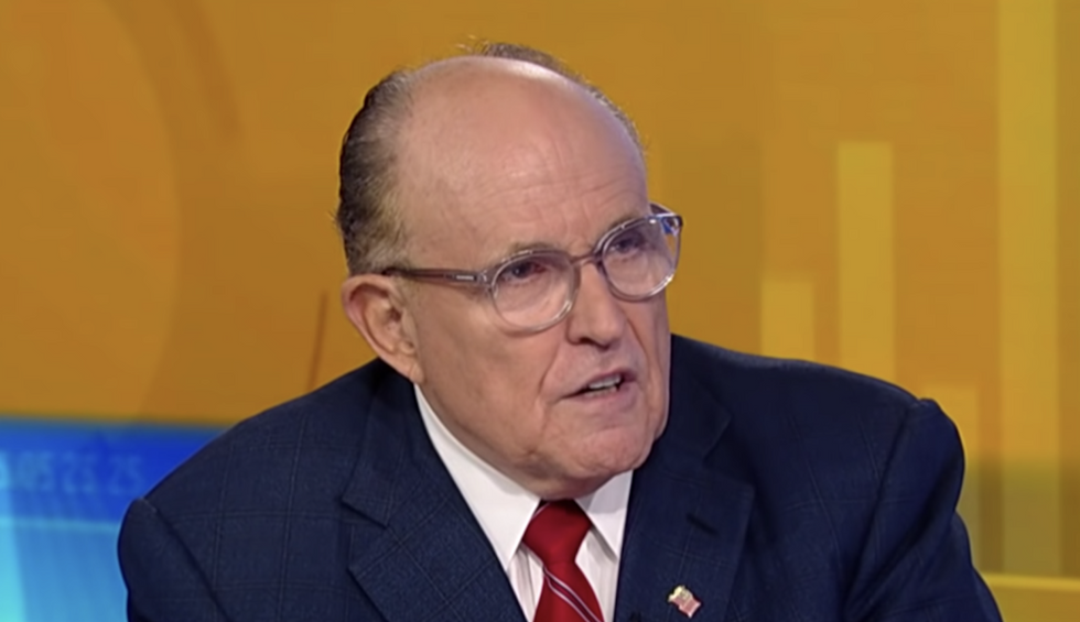 Giuliani created 2 secret companies amid his work in Ukraine — and we think he only had one client