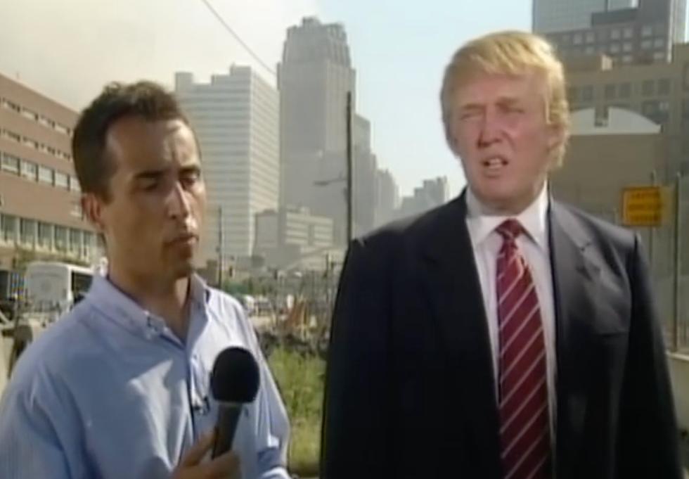 Donald Trump Has A Long and Sordid History of Bizarre Behavior Around the 9/11 Attacks