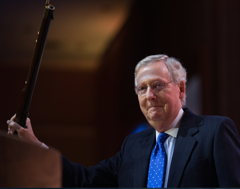 Mitch McConnell Warns Democrats Against 'Presidential Harassment' If They Retake the House  -  Without a Hint of Irony